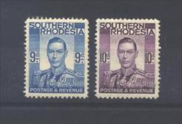 South. RHODESIA   46/47 *  (MH) - Southern Rhodesia (...-1964)
