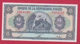 HAITI  //  2  GOURDES  //  ETAT  UNC - Haiti