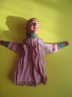 Marionnette/  Femme  / En Papier Mâché /19éme Siécle       JE73 - Toy Memorabilia