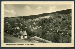 Sommerfrische Rechenberg I. Ost-Erzgeb. - Gel. 1957 - DDR - 692  T 126/56  W. Kenne, Dresden - Rechenberg-Bienenmühle