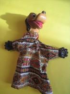 Marionnette/ Pluto/ Walt Disney  / En Plastique Dur  /Vers 1960      JE74 - Toy Memorabilia