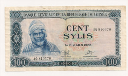 GUINEE 100 SYLIS 1960 - Guinée