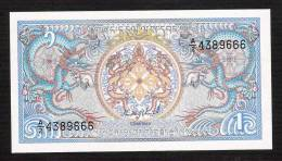 BHUTAN P12  1 NGULTRUM (1986)    UNC. - Bhoutan