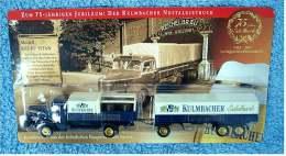 Werbetruck - Kulmbacher Nostalgietruck Krupp Titan  ,  Ca. 27 Cm  -  Neu - OVP - LKW