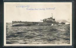 """6341 - CHERBOURG : Le Croiseur Sous Marin """" SURCOUF"""" - Onderzeeboten"""