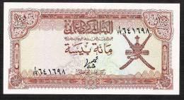 """OMAN  P13 100 BAISA  1976  #A/29    """"Central Bankof Oman""""  Signature 1  UNC. - Oman"""
