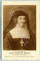 Portrait Authentique De Sainte Jeanne De Chantal - Saints