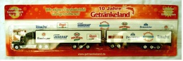 Seltener  Truck + Anhänger  Getränkeland Ca. 40 Cm - Neu , OVP - LKW