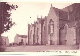 44  SAINT  HERBLAIN     L  EGLISE  COTE  SUD - Saint Herblain