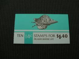 K7567- Booklet  MNh Palau  -palauan Marine Life  1,4 $ - Palau