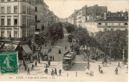 LYON Cours De La Liberté Tramway - Lyon