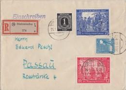 Gemeina. R-Brief Mif Minr.911,950,065,966 Holzminden 20.1.48 - Gemeinschaftsausgaben