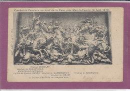 Combat De Cavalerie Au Fond De La Cuve  Pres Mars La Tour Le 16 Aout 1870 - Other