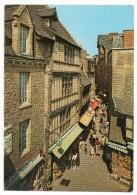 50 - Le Mont Saint Michel - La Rue, Vestige Du XVe Siècle - Le Mont Saint Michel