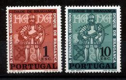 Portugal  N°958 Et 959** Ville De Bragance - Unused Stamps