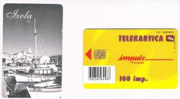 SLOVENIA (SLOVENIJA)  - IMPULZ -  1999 IZOLA  100 IMP. (TIRAGE 6000) - USATA (USED)°  -  RIF. 3079 - Slovenia