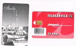 SLOVENIA (SLOVENIJA)  - IMPULZ -  1999 IZOLA    25 IMP. (TIRAGE 8000) - USATA (USED)°  -  RIF. 3080 - Slovenia