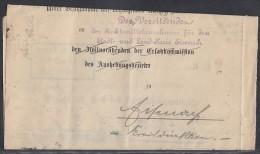 DR Brief Mef Minr.20x D73 Essen 1.8.23 - Dienstpost