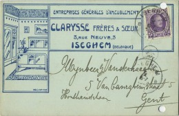 Izegem : Clarysse Frères & Soeurs  ( 2 Scan) - Izegem