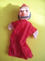 Marionnette/Le Roi/ En Caoutchouc Mou  /Vers 1960      JE81 - Toy Memorabilia