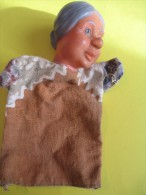 Marionnette/Grand Mére/ En Caoutchouc Mou  /Vers 1960      JE83 - Toy Memorabilia