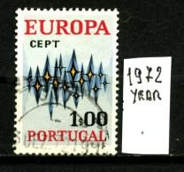 EUROPA - CEPT - PORTOGALLO - Year 1972 - Viaggiato -traveled - Voyagè -gereist. - Europa-CEPT