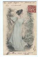 Jolie Jeune Femme, Fleurs - 1900-1949