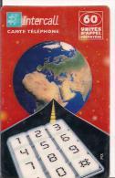 TARJETA FRANCIA PLANETA TIERRA - Astronomy