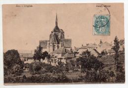 Jars, L´église, 1904, éd. Jamet - Autres Communes