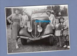 Photo Ancienne - Belle Automobile Ancienne PEUGEOT 301 - Voir Calandre - 1952 - Automobiles