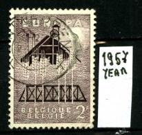 EUROPA - CEPT - BELGIO - BELGIQUE - Year 1957 - Viaggiato -traveled - Voyagè -gereist. - Europa-CEPT