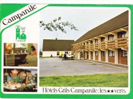 Cp , HÔTEL , GRIL CAMPANIL , Belfort-Bessoncourt , Multi-Vues - Hoteles & Restaurantes