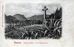 Ragusa Croazia Insel Lacroma DasTriton Kreuz - Croatia