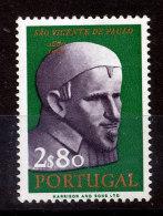 Portugal  N°924** Saint Vincent De Paul - Unused Stamps