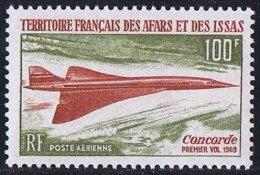 1969  Premier  Vol Du Concorde  Yv PA 60  **  MNH - Afars Et Issas (1967-1977)