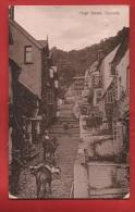 BUK-11 Clovelly  High Street, ânes Ou Mulets, Circulé En 1919. Traces D'usure. - Clovelly