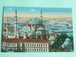 CONSTANTINOPLE - Mosquée Suleymanié - Turquie