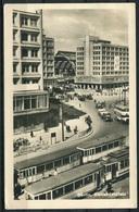 Berlin / Alexanderplatz / Straßenbahn / Omnibus - Gel. 1957 - DDR - Photochemie Berlin - Mitte