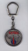 Porte Clefs: Total, Carte De L' Afrique (14-483) - Sleutelhangers