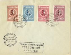 LYT3- VIET NAM TET CONG HOA 26/10/1958 - Viêt-Nam