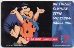 Mr.Firestone TK O 183/1993 Werbung TV PRO7 Feuerstein O 15€ Comic-Serie Erleben Mit YABBA-DABBA-DOO Tele-card Of Germany - Comics