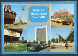 Berlin / Mehrbildkarte/ Oldtimer  - N. Gel. - DDR - Bild Und Heimat   A1/650/84    01 15 0440 - Mitte