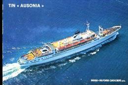 T/N AUSONIA SIOSA AUSONIA CROCIERER SPA - Barche