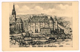 I1958 Stuttgart - Altes Schloss Mit Umgebung 1600 / Non Viaggiata - Stuttgart