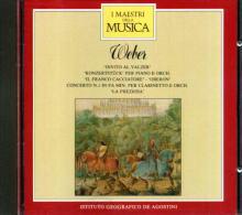 I MAESTRI DELLA MUSICA WEBER - Classica
