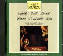 I MAESTRI DELLA MUSICA GABRIELLI TORELLI BARSANTI DURANTE A.MARCELLO LOTTI - Classica