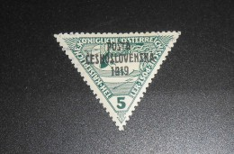 Czechoslovakia Stamp B33 Used VF - Czechoslovakia