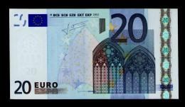 CYPRUS 20 EURO ★ G ★ G014 G5 ★ G025224235869 - UNC - FDS - NEUF - TRICHET - EURO