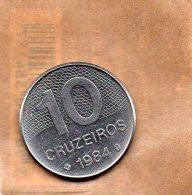 PIECE DE 10 CRUZEIROS 1984 - Brasilien