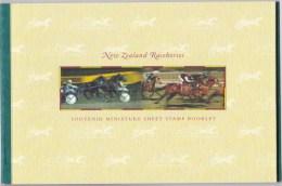 New Zealand 1996 Racehorses Prestige Mint Booklet - Booklets